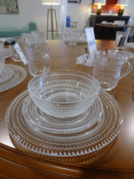 Glass Bead Dinnerware