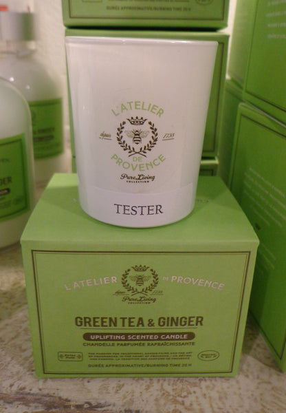 Candle-20 hrs Green Tea & Ginger
