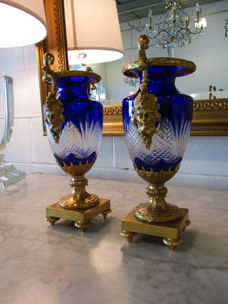 Decorative vase on  foot