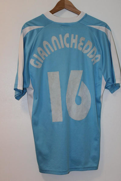 Lazio 2003-2004 Home Shirt Giannichedda #16 Large