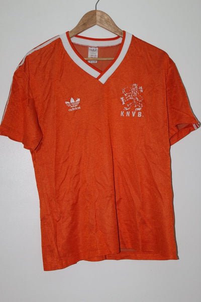 Netherlands Holland 1985-1988 Home Shirt Medium Adidas