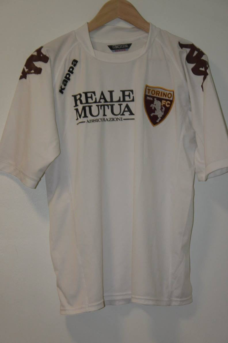 Torino Shirt 2008-2009 Away Shirt Medium Kappa