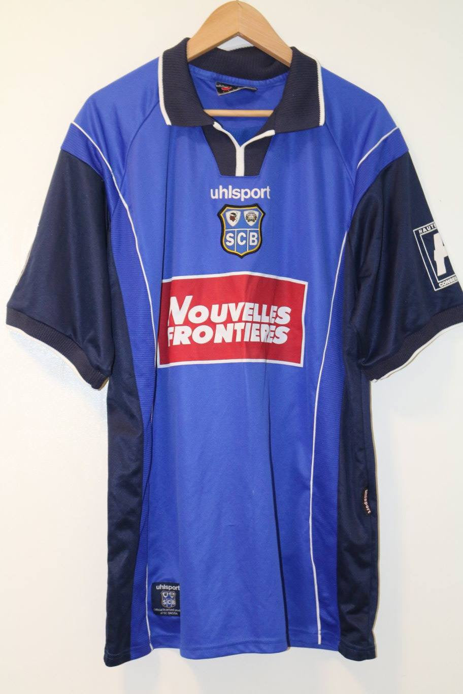 Bastia SC 2000-2001 Home Shirt XXL Uhlsport
