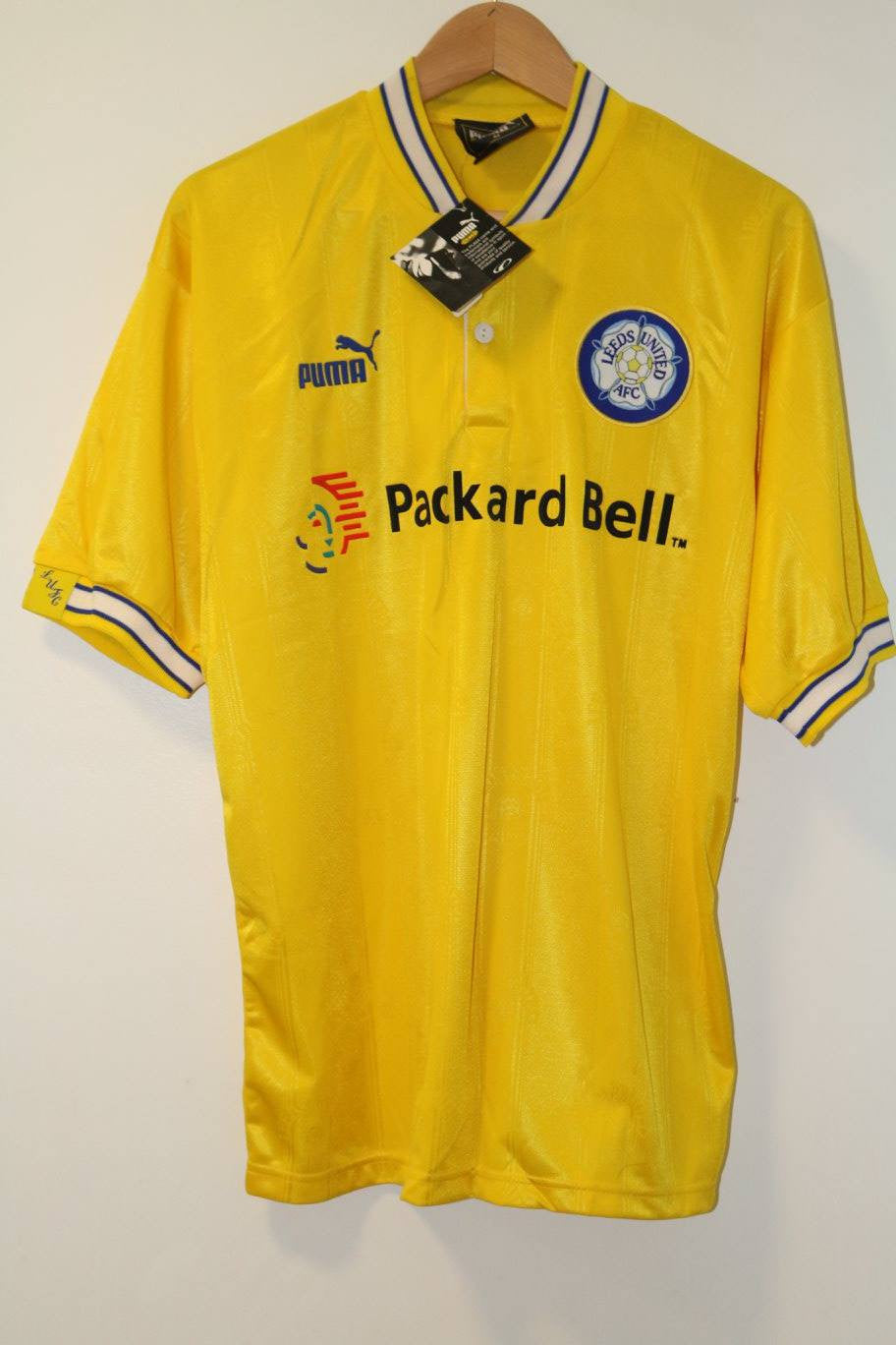 Leeds United 1996-1997 Medium Shirt XL BNWT