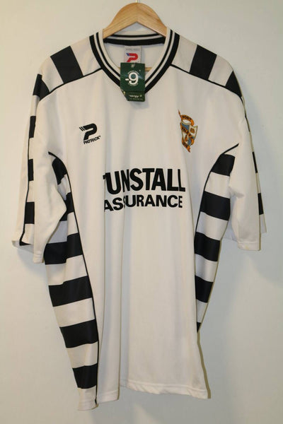 Port Vale 2001-2003 XXL Home Shirt BNWT Patrick