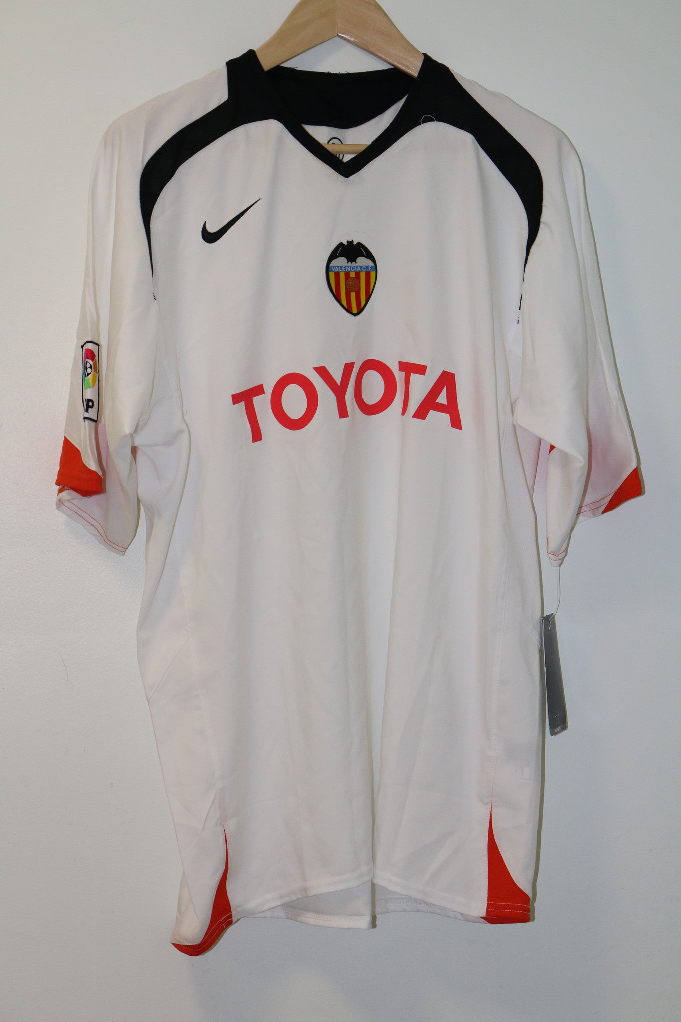Valencia BNWT 2005-2006 Home Nike Shirt XL
