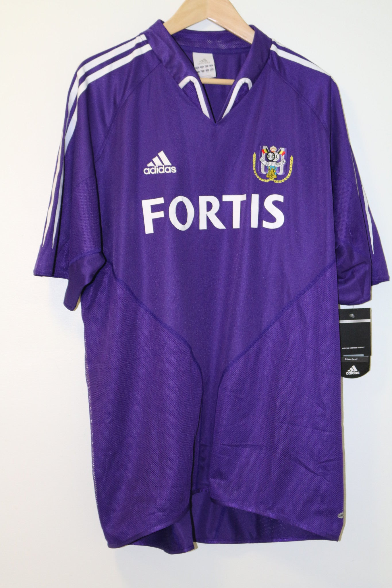 Anderlecht 2004-2005 Away Shirt XL Adidas BNWT