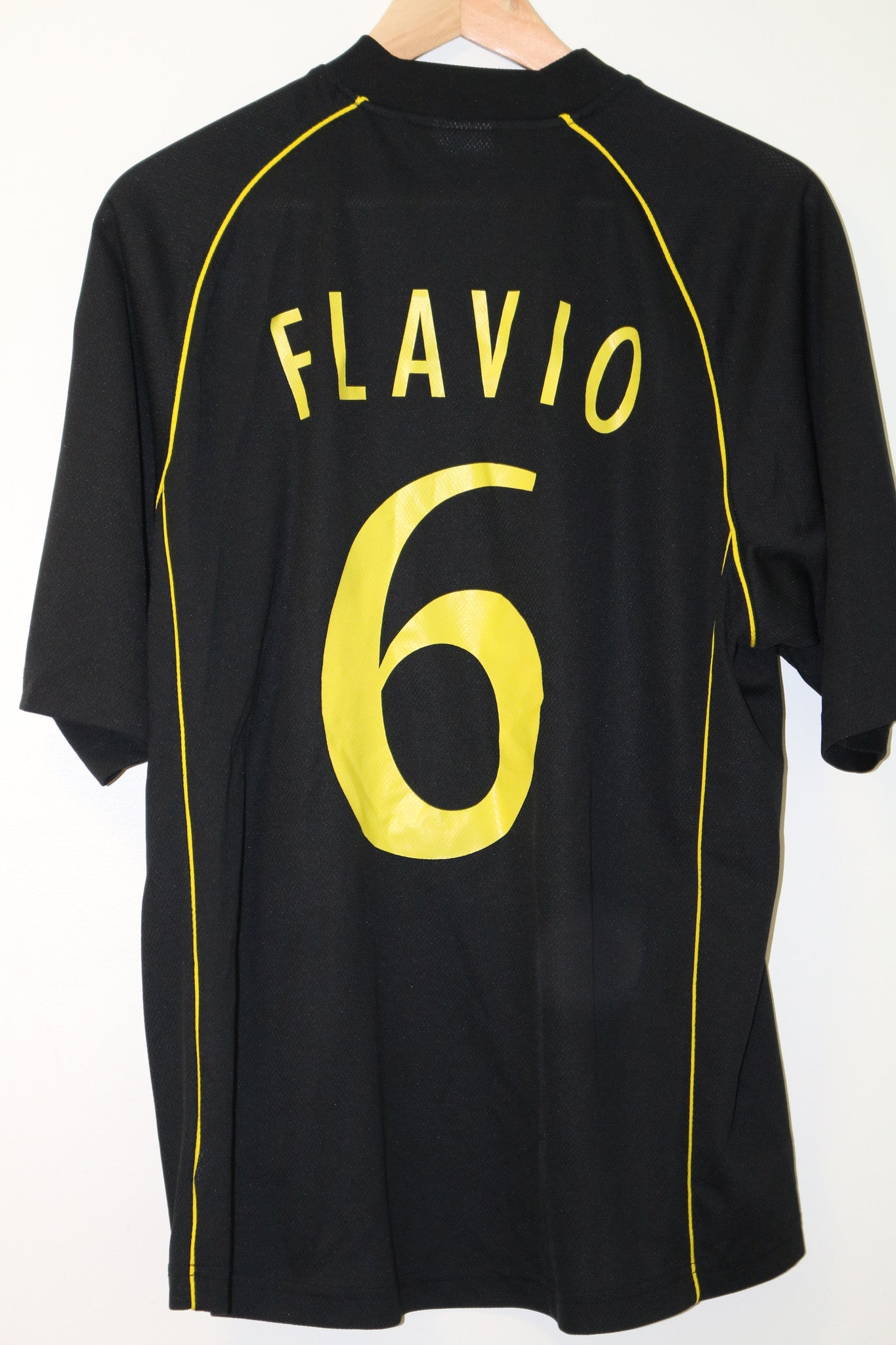 Dortmund 2003-2004 Away Shirt Medium Flavio Conceicao 6 Large