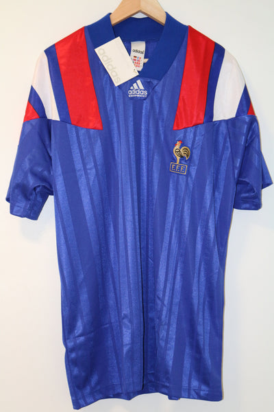 France Euro  1992 Home Shirt XL Adidas BNWT