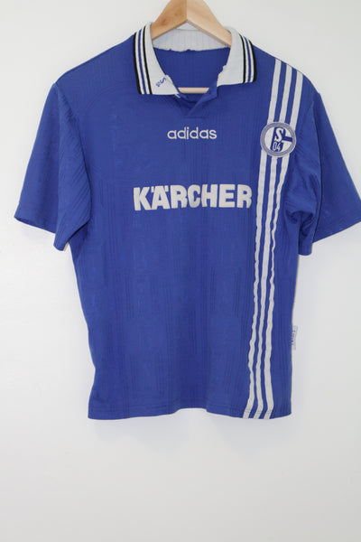 Schalke 04 1997-1998 Home Shirt Youth XL or Adult Small