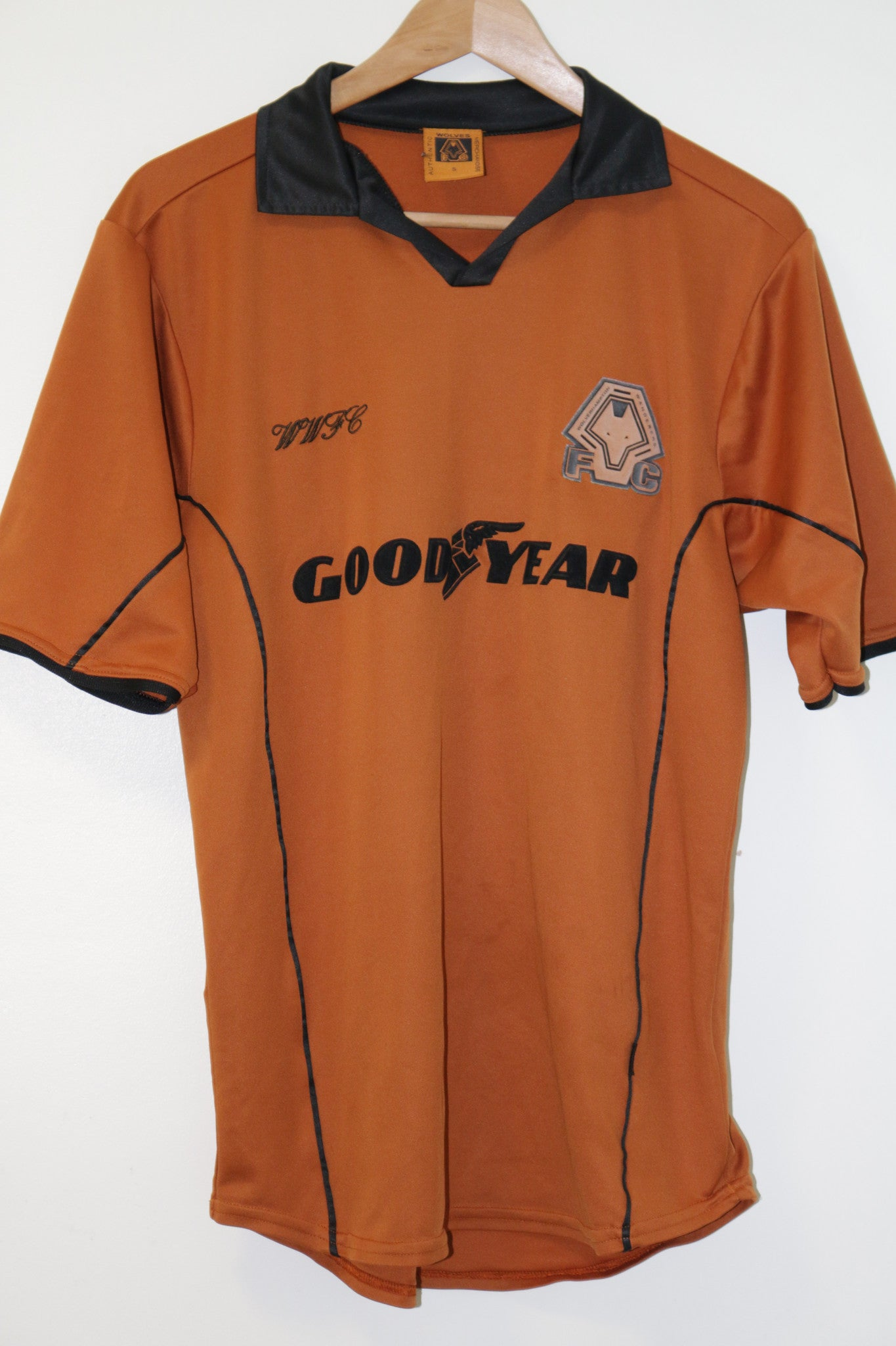 Wolves Home Shirt Small 2000-2002