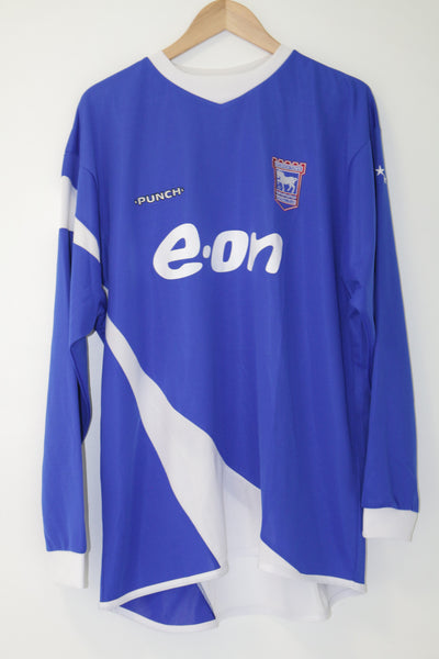 Ipswich 2006-2007 Punch Home Shirt XL L/S