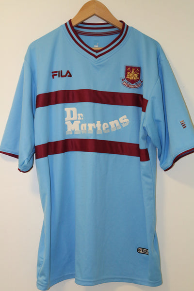 West Ham United 2002-2003 Away XL Shirt Carrick #21