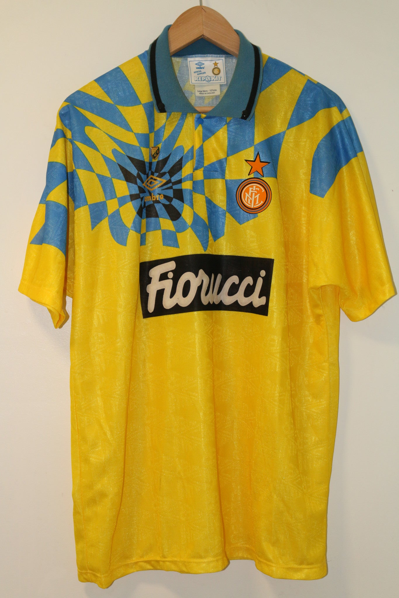 Inter Milan 1993-1994 Umbro Third Shirt  XL
