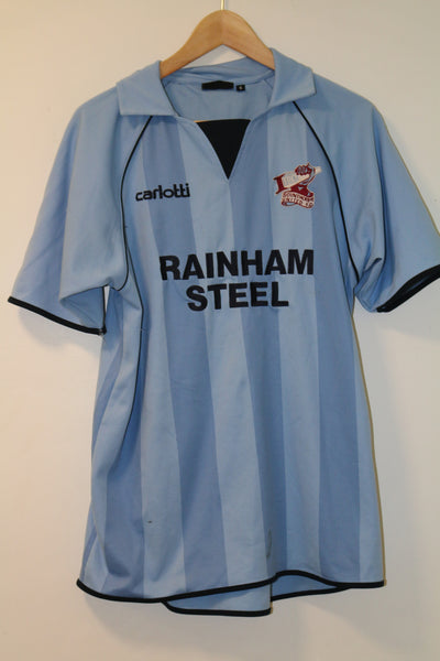 Scunthorpe 2007-2010 Away Shirt Small Carlotti