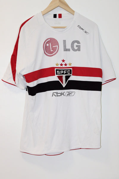 Sao Paulo Home Shirt Large #9 (Leandro)