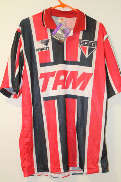 Sao Paulo 1993 Penalty Away Shirt XL BNWT #10 (Leonardo)
