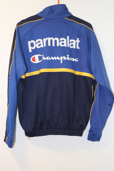 Parma 1999-2000 Champion Full Tracksuit Top & Bottoms Parmalat Small BNWT