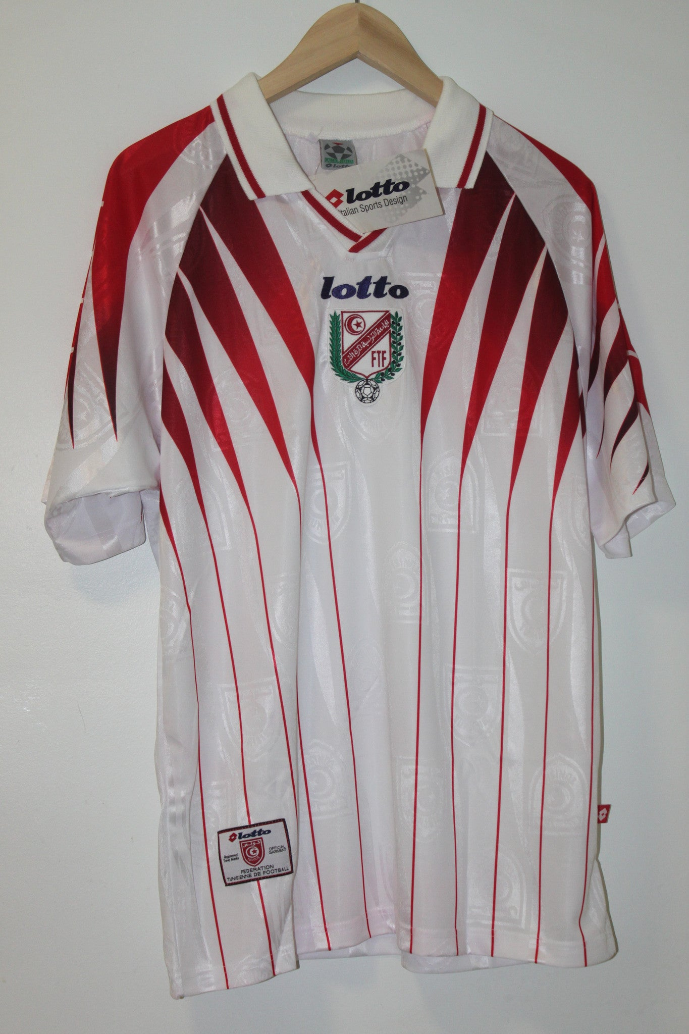 Tunisia World Cup 1998 Away Shirt Large Lotto BNWT