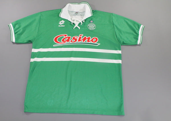 ASSE Saint Etienne 1994-1995 Home Shirt XXL Lotto