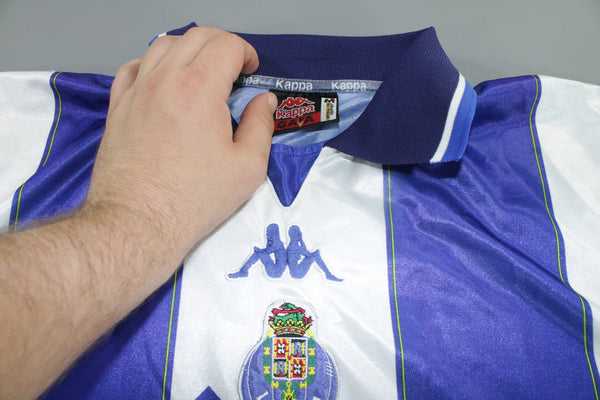 Porto 1999-2000 Home Shirt Medium Kappa