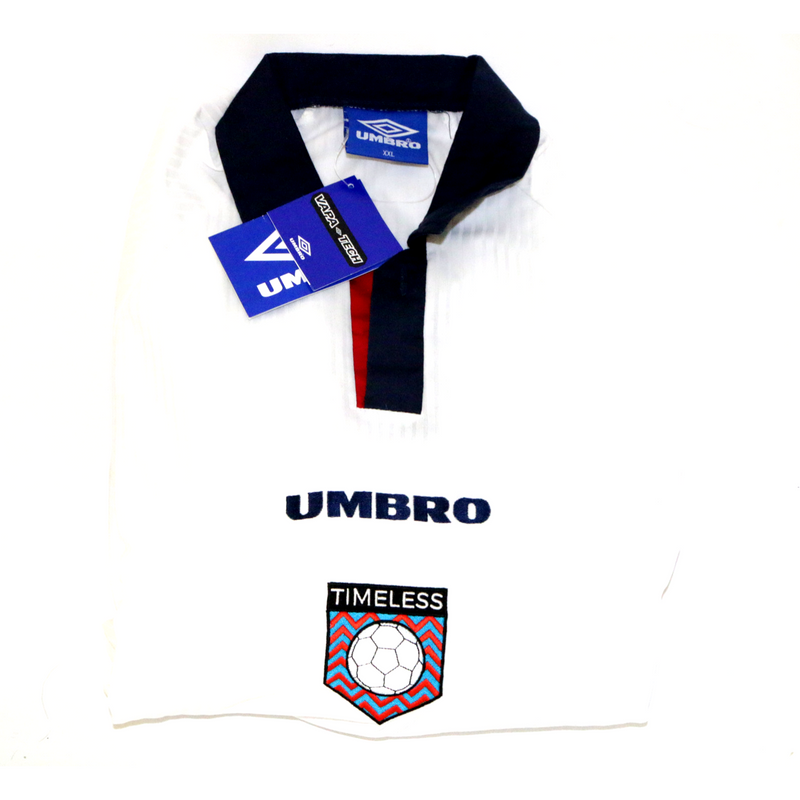 "Timeless Football Umbro 'England World Cup 98"" Shirt L/S XXL BNWT"