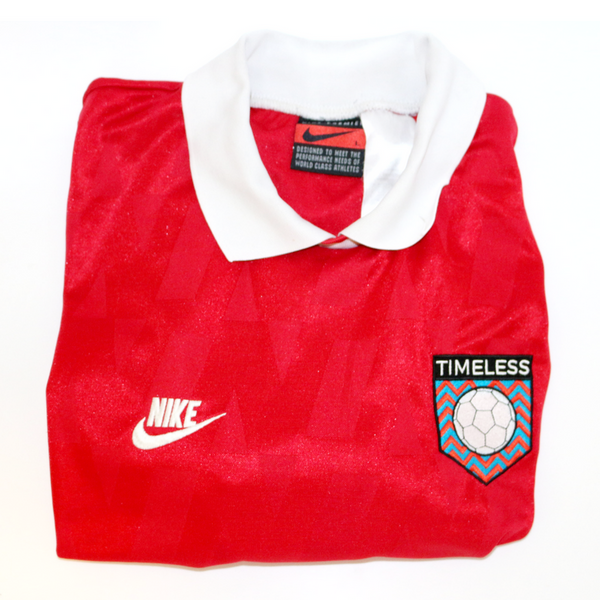 "Timeless Football Nike ""Arsenal 95-96"" Shirt S/S Shirt Large"