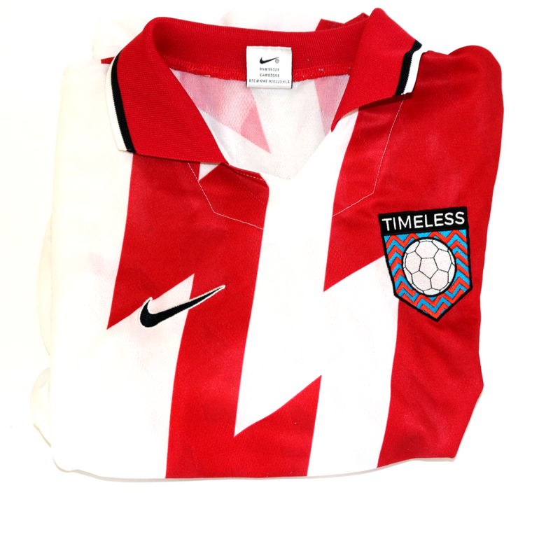 Timeless Football Nike Red / White Shirt S/S Shirt Large