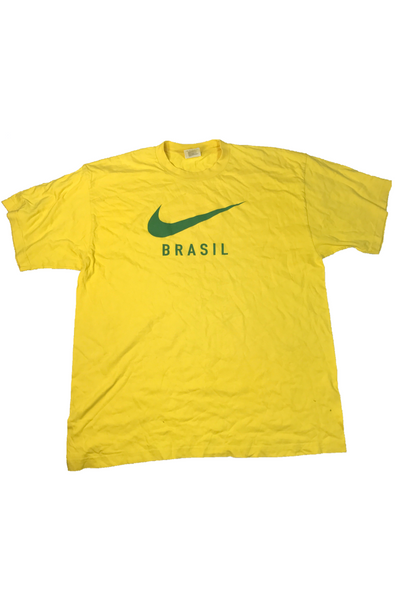 Brazil Nike France 98 World Cup Airport T-Shirt XL – Timeless Football 731c598c30938