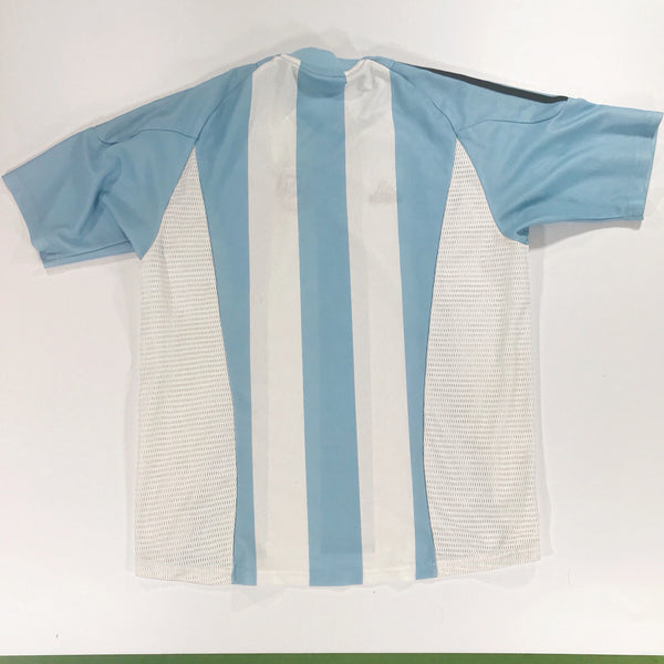 Argentina World Cup 2002 Home Shirt Large Adidas