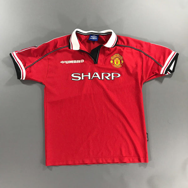 Manchester United 1998-1999 Home Shirt Large