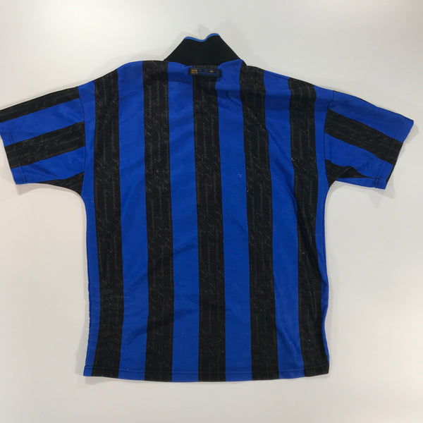 Inter Milan 1997-1998 Home Shirt Medium Umbro