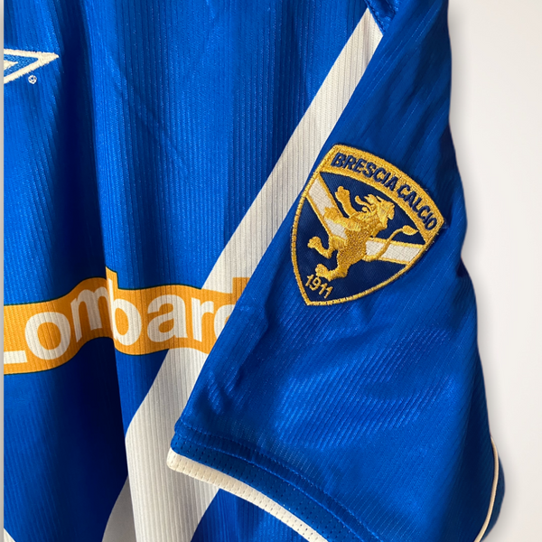 Brescia 2002-2003 Home Umbro Shirt XL