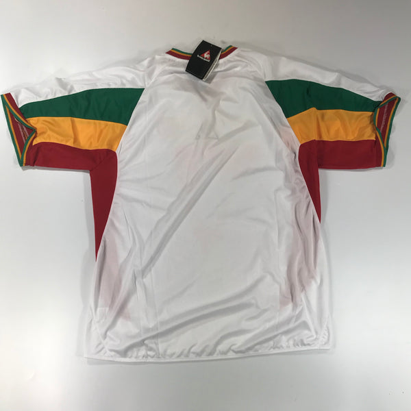 Senegal World Cup 2002 Home Shirt XL le coq sportif BNWT
