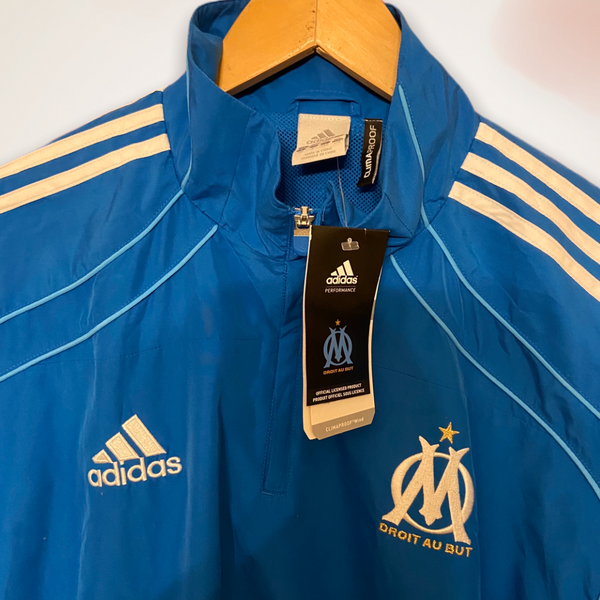 Marseille BNWT 2007-2008 Adidas 1/4 Zip Training Jacket Large