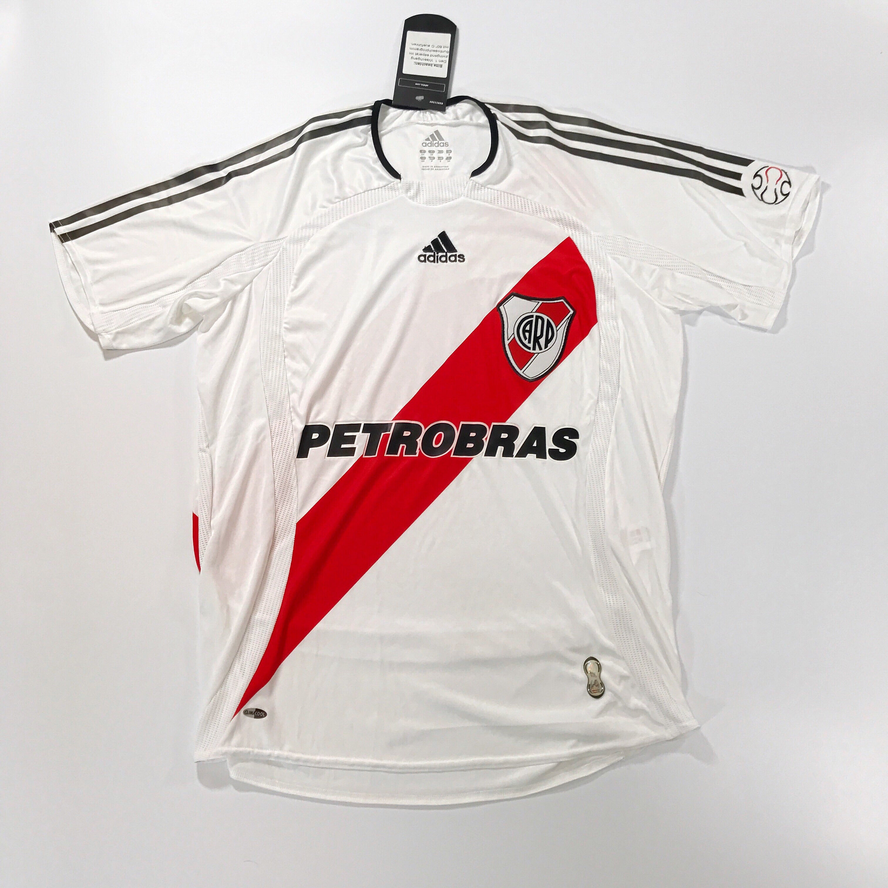 River Plate 2006-2007 Adidas Home Shirt Small BNWT