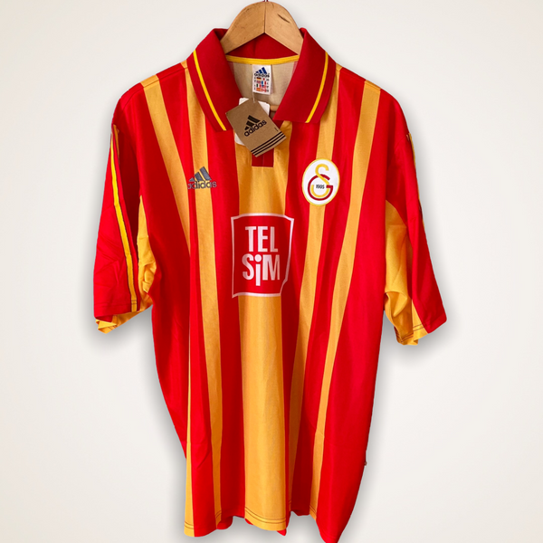 Galatasaray 2000-2001 home shirt Adidas BNWT XL