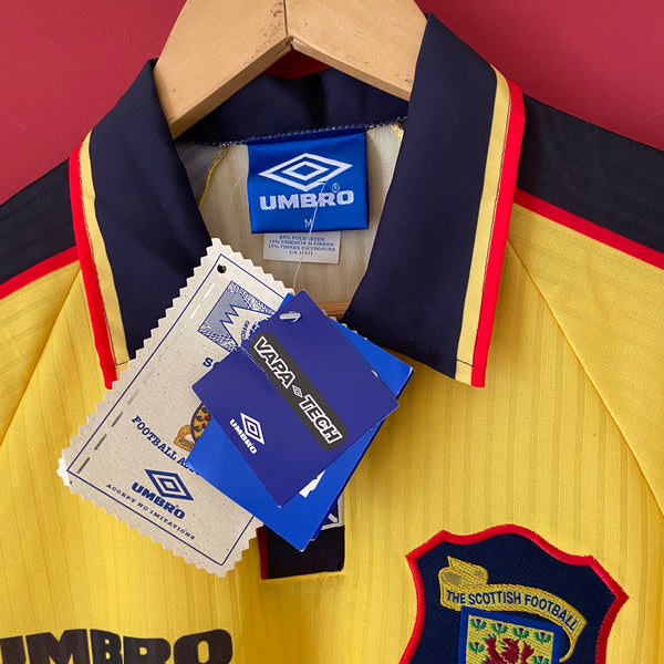 Scotland World Cup 1998 Umbro Away Shirt Medium BNWT