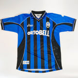 Atalanta BC 2001-2002 Home Shirt Match Worn Fausto Rossini #9