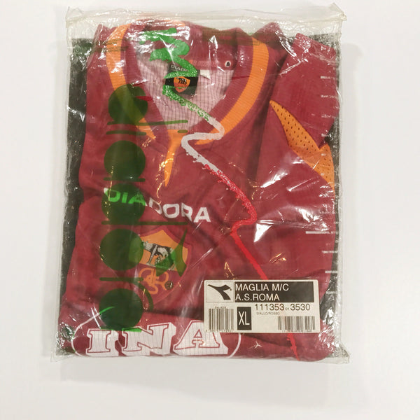 Roma 1997-1998 Diadora Home Shirt XL Brand New BNIB