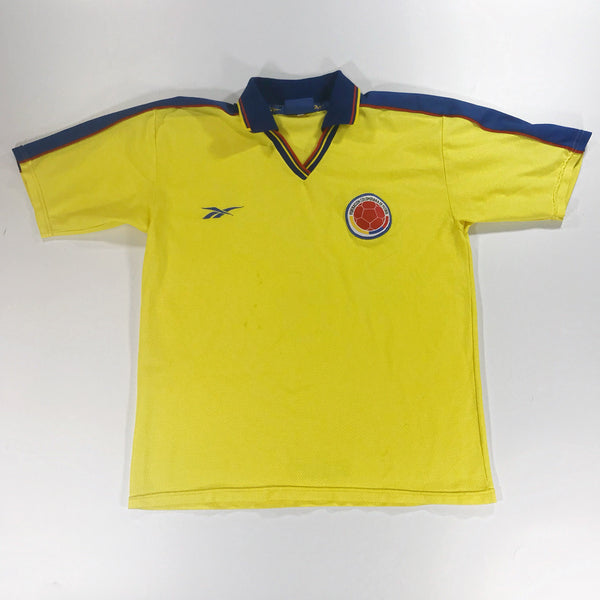 Colombia World Cup 1998 Home Shirt Large Reebok