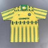 Celtic 1989-1991 Away Shirt Umbro Large
