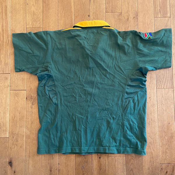 South Africa World Cup 2003 Rugby Shirt XL