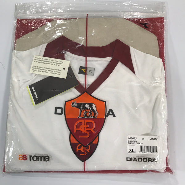 Roma 2006-2007 Away Shirt BNWT Diadora XL