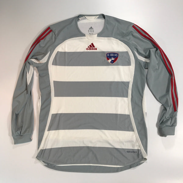FC Dallas MLS Shirt Large 2005-2006 L/S Adidas