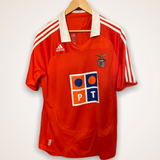 Benfica 2007-2008 Adidas Home Shirt XL Rui Costa #10