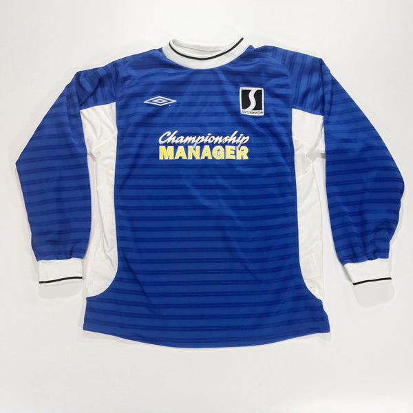 Championship Manager 2001-2002 Umbro Shirt L/S XXL