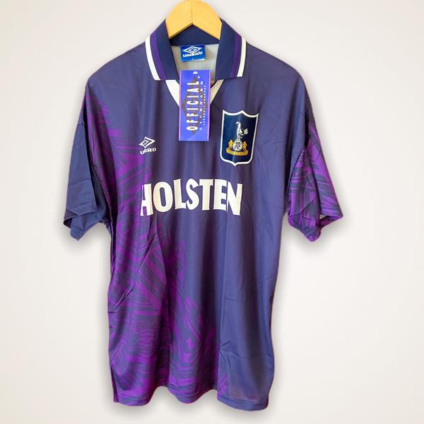 Tottenham 1994-1995 Umbro Away Shirt Large Holsten BNWT