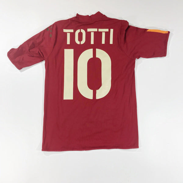 Roma 2003-2004 Home Shirt Totti #10 Small Diadora