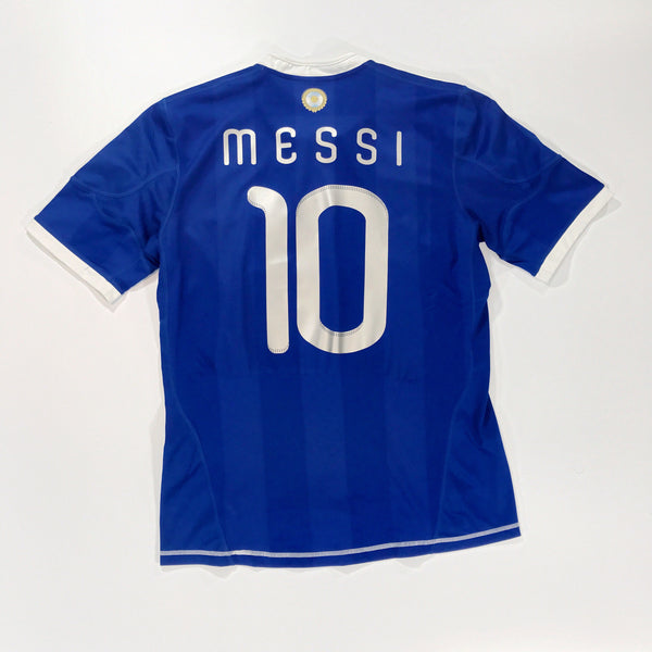Argentina WC2010 Home Shirt Medium Messi #10 Adidas